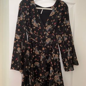 Free people large tunics polyester side zip clean
